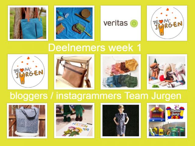 Bloggers / instagrammers voor Team Jurgen